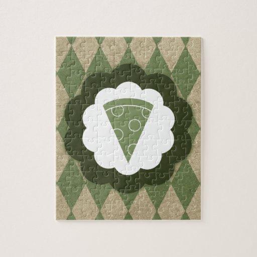 vintage de la pizza puzzles