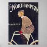 Vintage de la publicidad de la bicicleta posters