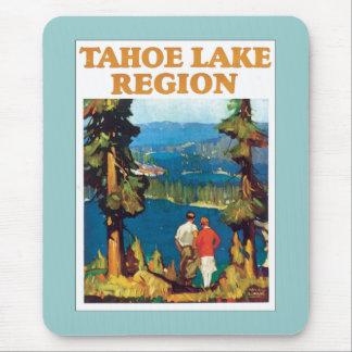 Vintage de la región del lago Tahoe Alfombrilla De Raton