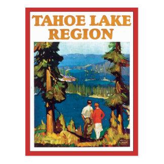 Vintage de la región del lago Tahoe Postales