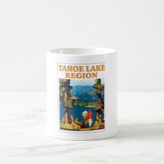Vintage de la región del lago Tahoe Taza De Café