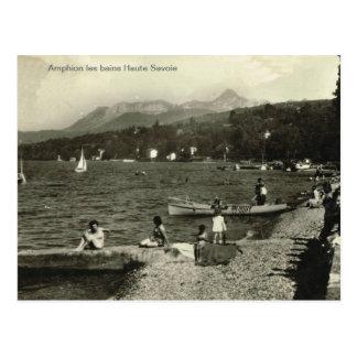 Vintage de la reproducción, haute Saboya de los Tarjetas Postales