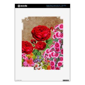 Vintage de la rosaleda iPad 3 skin