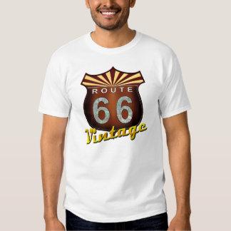 Vintage de la ruta 66 polera