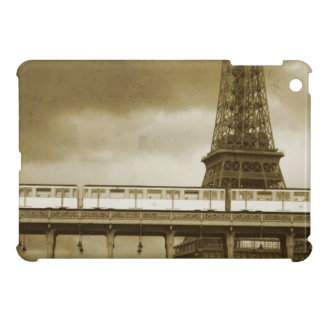 Vintage de la torre Eiffel iPad Mini Protector