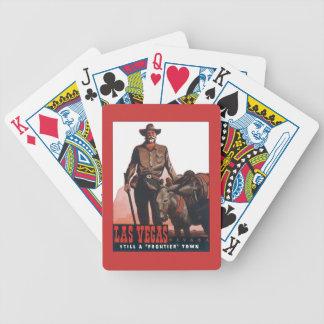 Vintage de Las Vegas Nevada Barajas De Cartas