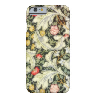 Vintage de Leicester floral Funda De iPhone 6 Barely There