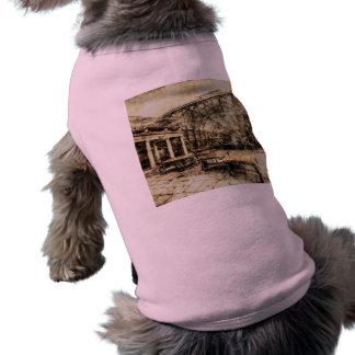 Vintage de Londres del jardín de Covent Playera Sin Mangas Para Perro