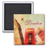 Vintage de Londres Iman De Nevera