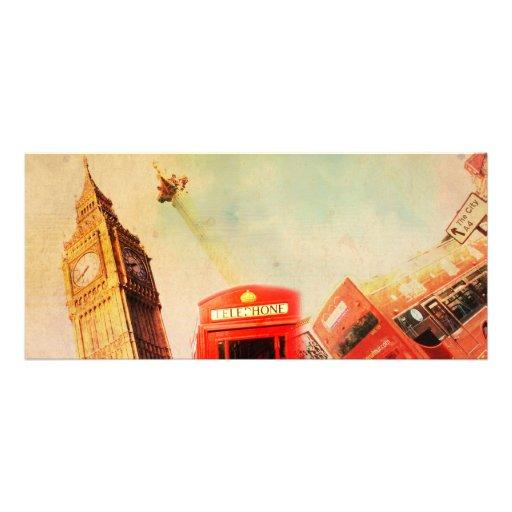 Vintage de Londres Lonas Personalizadas