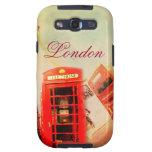 Vintage de Londres Samsung Galaxy S3 Fundas