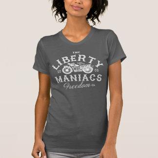 Vintage de los maniacos de la libertad polera