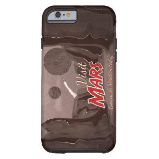 Vintage de Marte de la visita Funda De iPhone 6 Tough