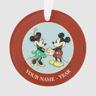Vintage de Mickey y de Minnie el |