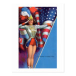Vintage de Moran del conde americana Postal