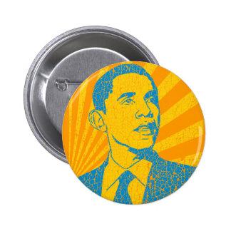 Vintage de Obama Pin Redondo 5 Cm
