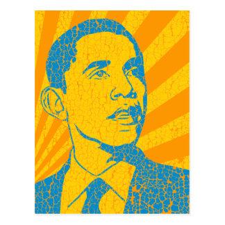 Vintage de Obama Tarjeta Postal