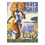 Vintage de Parco Tigullio Postales