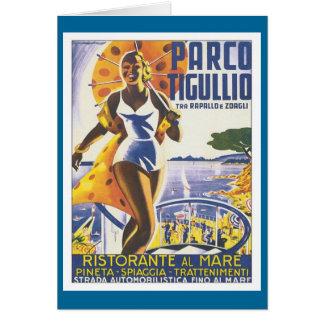Vintage de Parco Tigullio Tarjeta De Felicitación