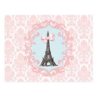 Vintage de París Tarjeta Postal
