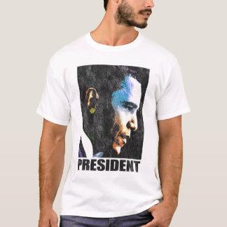Vintage de presidente Barack Obama Playera