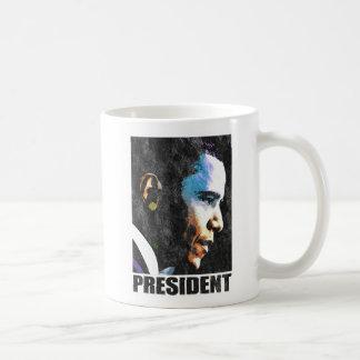 Vintage de presidente Barack Obama Taza De Café