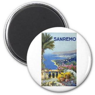 Vintage de Sanremo Italia Iman De Nevera