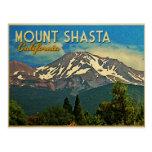 Vintage de Shasta del soporte Tarjeta Postal