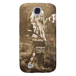 Vintage de Siux del Ute del nativo americano Funda Para Galaxy S4