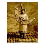 Vintage de Skagway Alaska del indio del Tlingit Postales
