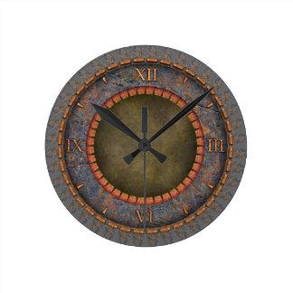 Vintage de Steampunk Reloj Redondo Mediano