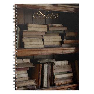 Vintage de Steampunk y tema histórico Cuaderno