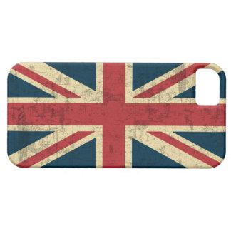 Vintage de Union Jack apenado iPhone 5 Case-Mate Protectores