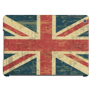 Vintage de Union Jack apenado Funda Para iPad Air