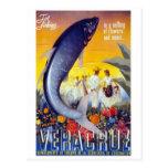 Vintage de Veracruz, México Tarjeta Postal