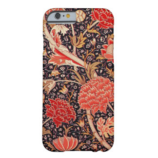 Vintage de William Morris Cray floral Funda Barely There iPhone 6