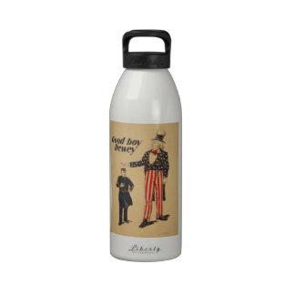 Vintage de WPA Botella De Beber