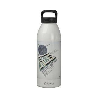 Vintage de WPA - Botellas De Agua Reutilizables