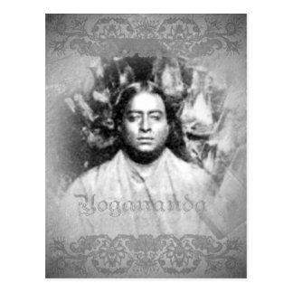 Vintage de Yogananda - postal