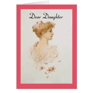 Vintage Dear Daughter Card