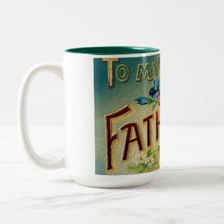 Vintage Dear Father mug