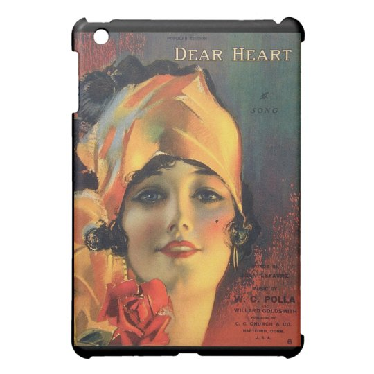 Vintage Dear Heart Cover For The iPad Mini