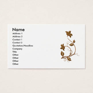 Vintage Decal 6 Business Card