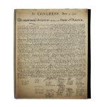 Vintage Declaration of Independence iPad Folio Cases