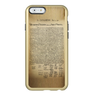 Vintage Declaration of Independence Incipio Feather Shine iPhone 6 Case