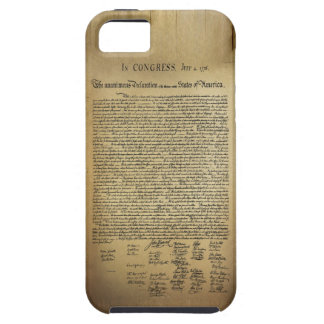 Vintage Declaration of Independence iPhone SE/5/5s Case