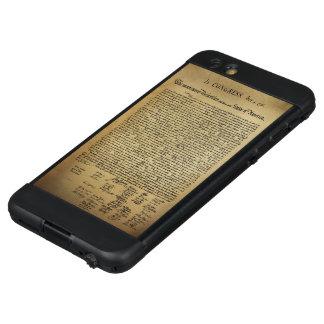 Vintage Declaration of Independence LifeProof NÜÜD iPhone 6 Plus Case
