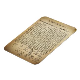 Vintage Declaration of Independence Magnet