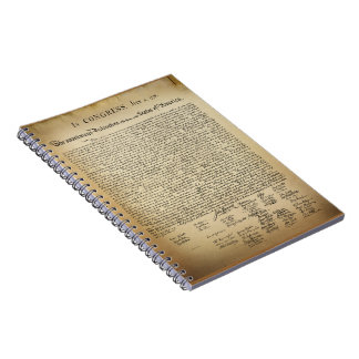 Vintage Declaration of Independence Notebook
