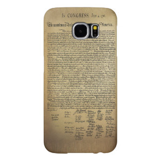 Vintage Declaration of Independence Samsung Galaxy S6 Case